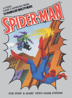 Box artwork for Spider-Man.