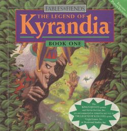 Box artwork for The Legend of Kyrandia Book One.