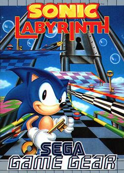 Box artwork for Sonic Labyrinth.