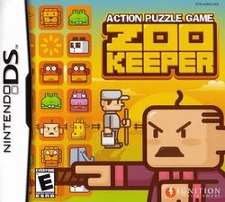 Box artwork for Zoo Keeper.