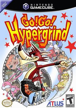 Box artwork for Go! Go! Hypergrind.