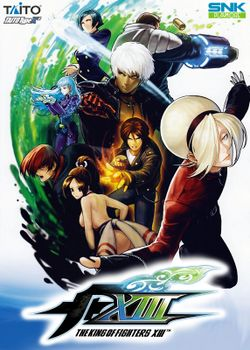 Box artwork for The King of Fighters XIII.