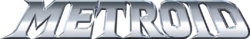 The logo for Metroid.