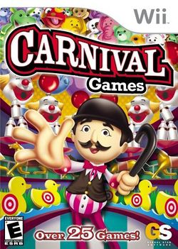 Box artwork for Carnival Games.