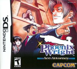 Box artwork for Phoenix Wright: Ace Attorney.