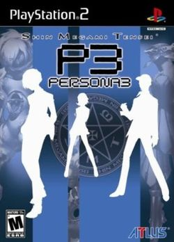 Box artwork for Shin Megami Tensei: Persona 3.