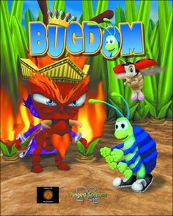 Box artwork for Bugdom.
