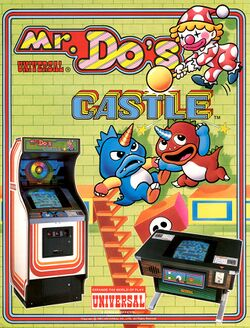 Box artwork for Mr. Do's Castle.