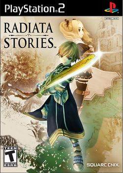 Box artwork for Radiata Stories.