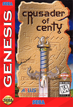 Box artwork for Crusader of Centy.