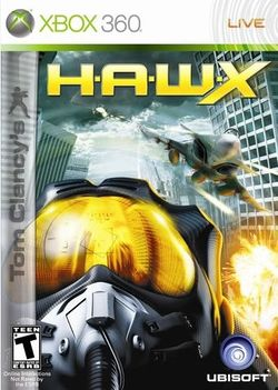 Box artwork for Tom Clancy's H.A.W.X..
