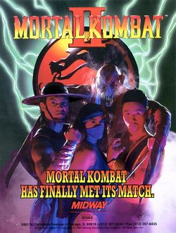 Box artwork for Mortal Kombat II.