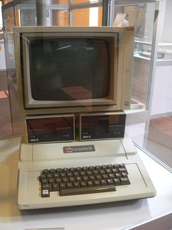 The console image for Apple II.