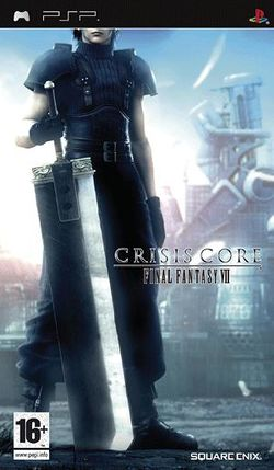 Box artwork for Crisis Core: Final Fantasy VII.