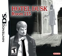 Box artwork for Hotel Dusk: Room 215.