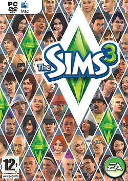 Box artwork for The Sims 3.