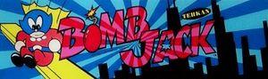 Bomb Jack marquee