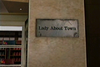 Lady About Town Sign