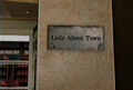 Dead rising lady about town sign.png