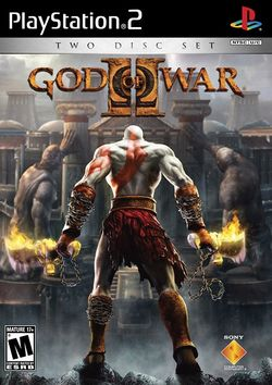 Box artwork for God of War II.