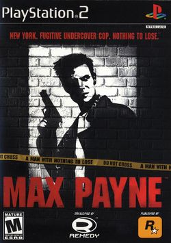 Box artwork for Max Payne.