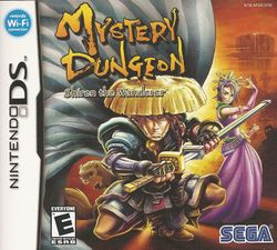 Box artwork for Mystery Dungeon: Shiren the Wanderer.