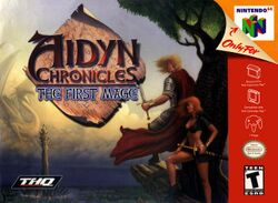 Box artwork for Aidyn Chronicles: The First Mage.