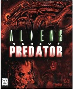 Box artwork for Aliens versus Predator.