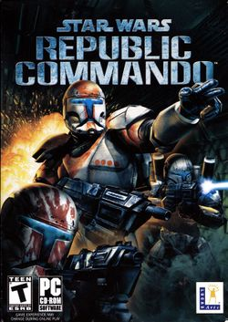 Box artwork for Star Wars: Republic Commando.