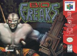 Box artwork for Bio F.R.E.A.K.S..