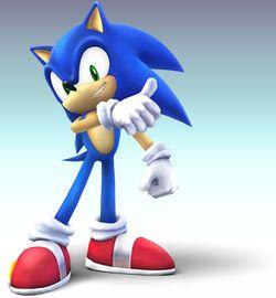 Sonic in Brawl