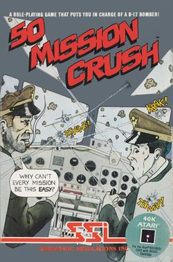 Box artwork for 50 Mission Crush.
