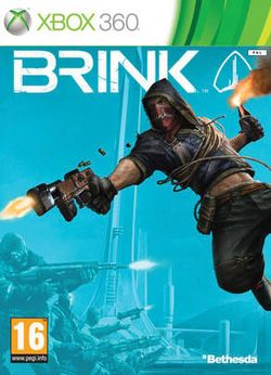 Box artwork for Brink.