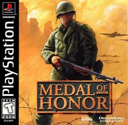 Box artwork for Medal of Honor.