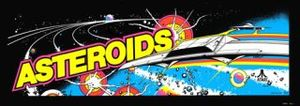 Asteroids marquee