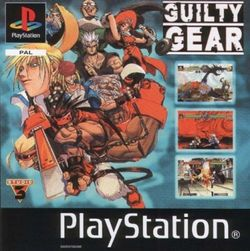 Box artwork for Guilty Gear.