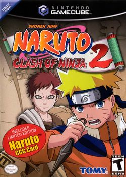 Box artwork for Naruto: Clash of Ninja 2.