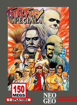 Box artwork for Fatal Fury Special.