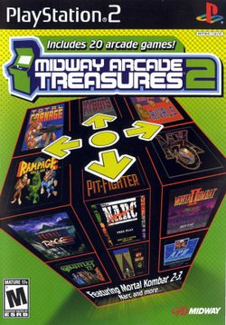 Box artwork for Midway Arcade Treasures 2.