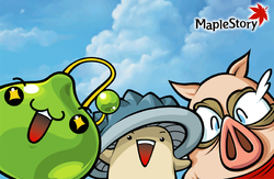 Box artwork for MapleStory.