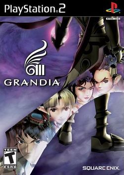 Box artwork for Grandia III.