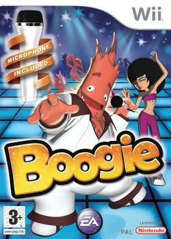 Box artwork for Boogie.