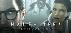 Box artwork for Half-Life 2: Episode Two.
