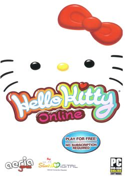 Box artwork for Hello Kitty Online.