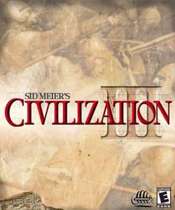 Box artwork for Sid Meier's Civilization III.