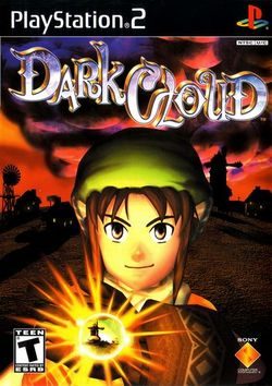 Box artwork for Dark Cloud.