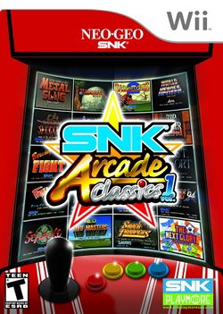 Box artwork for SNK Arcade Classics Vol. 1.
