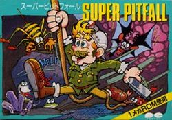 Box artwork for Super Pitfall.