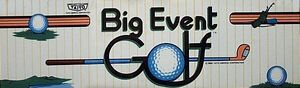 Big Event Golf marquee