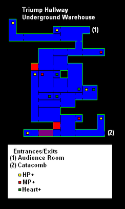 Castlevania CotM map-Underground Warehouse.png